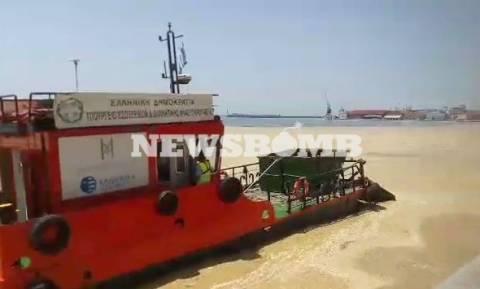 Εντυπωσιακό βίντεο από το λιμάνι Θεσσαλονίκης ΤΩΡΑ - Εικόνες «Αποκάλυψης» και βρώμα
