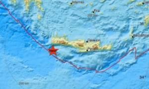 Σεισμός ΤΩΡΑ στην Κρήτη
