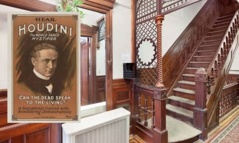 Στο σφυρί το σπίτι του διάσημου μάγου, Χουντίνι