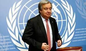 Κυπριακό: Έκκληση Γκουτέρες να συνεχιστούν οι διαπραγματεύσεις