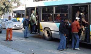 Οδηγός λεωφορείου στο Μενίδι: Σφαίρα πέρασε «ξυστά» από το κεφάλι μου