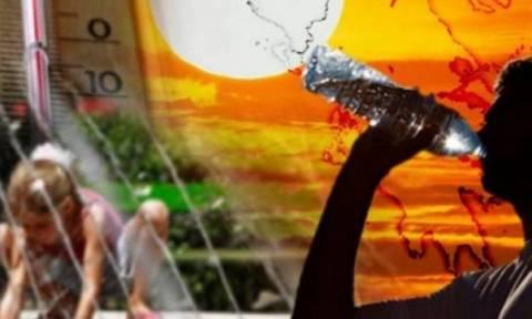 Καύσωνας και σήμερα - Αναλυτική πρόγνωση από την ΕΜΥ