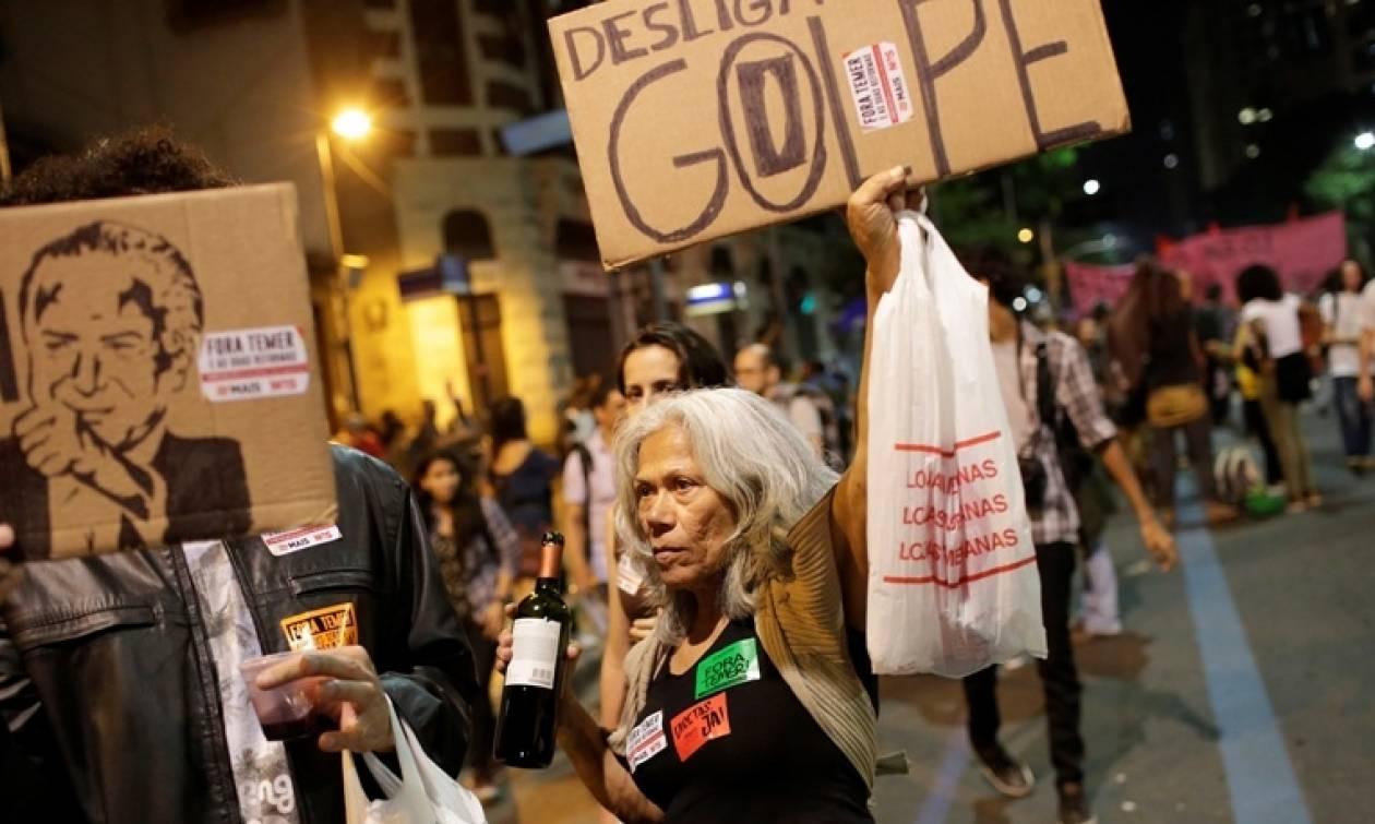 Επεισόδια στις κινητοποιήσεις κατά της κυβέρνησης στην Βραζιλία