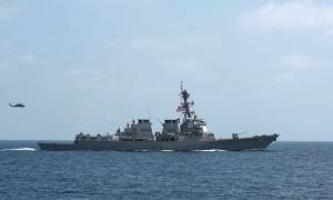 Κίνδυνος για «θερμό» επεισόδιο: Πολεμικό πλοίο των ΗΠΑ πέρασε δίπλα από κινέζικο νησί
