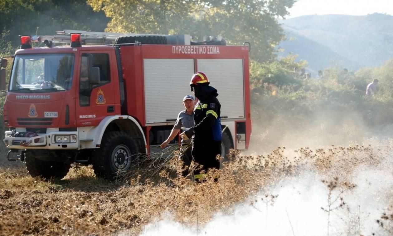 Πορτοκαλί συναγερμός! Ο χάρτης πρόβλεψης κινδύνου πυρκαγιάς για τη Δευτέρα 3/7 (pics)