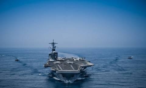 Επικίνδυνα «παιχνίδια πολέμου» των ΗΠΑ καταγγέλλει η Κίνα