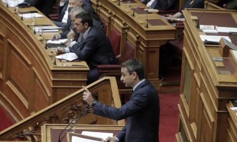 Τσίπρας: Κάνεις αντιπολίτευση εναντίον της Πατρίδας! - Μητσοτάκης: Μη μας κάνεις εσύ υποδείξεις!
