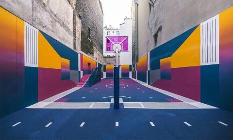 Viral: Είναι αυτό το πιο παράξενο γήπεδο μπάσκετ στον κόσμο; (Pics)