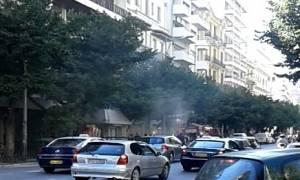 Θεσσαλονίκη: Πυρκαγιά σε πολυκατοικία στο κέντρο της πόλης - Αποπνικτική η ατμόσφαιρα (pics)