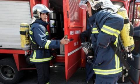 Φωτιά κοντά στο πανεπιστήμιο της Πάτρας