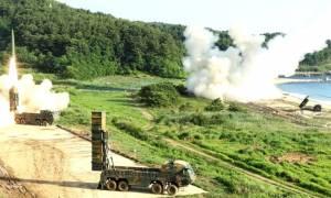 ΗΠΑ και Νότια Κορέα «απάντησαν» στην εκτόξευση του ICBM από την Πιονγιάνγκ (vid)