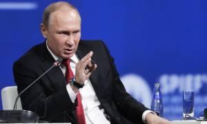 Αντεπίθεση Πούτιν για τις κυρώσεις κατά της Ρωσίας