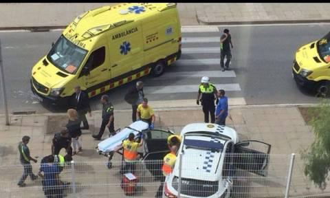 Πυροβολισμοί στη Βαρκελώνη - Δύο αστυνομικοί τραυματίες (pics)