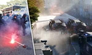 Γερμανία: Άγρια επεισόδια πριν την έναρξη της Συνόδου G20 στο Αμβούργο