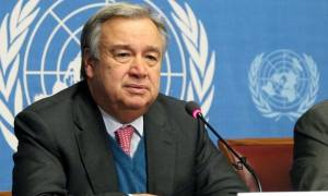 Γκουτέρες για Κυπριακό: Εύχομαι ότι καλύτερο στους Κύπριους στο Νότο και στο Βορρά (vid)