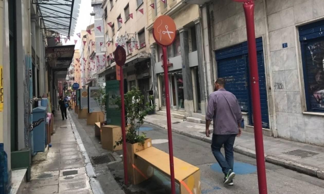 Νέες πεζοδρομήσεις στην Αθήνα: Θετική ανταπόκριση από καταστηματάρχες και πολίτες