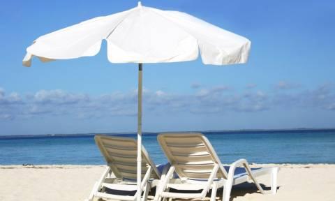 Ομπρέλα θαλάσσης τραυμάτισε τουρίστα στην Κρήτη!