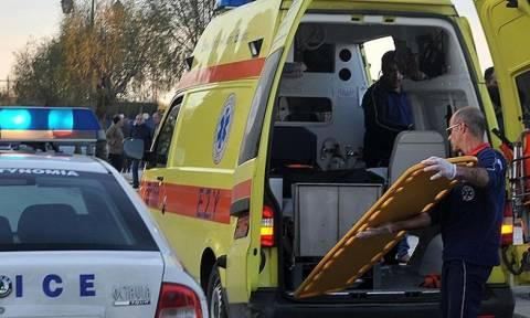 Λάρισα: Τροχαίο ατύχημα με τραυματία στη διασταύρωση Χάλκης