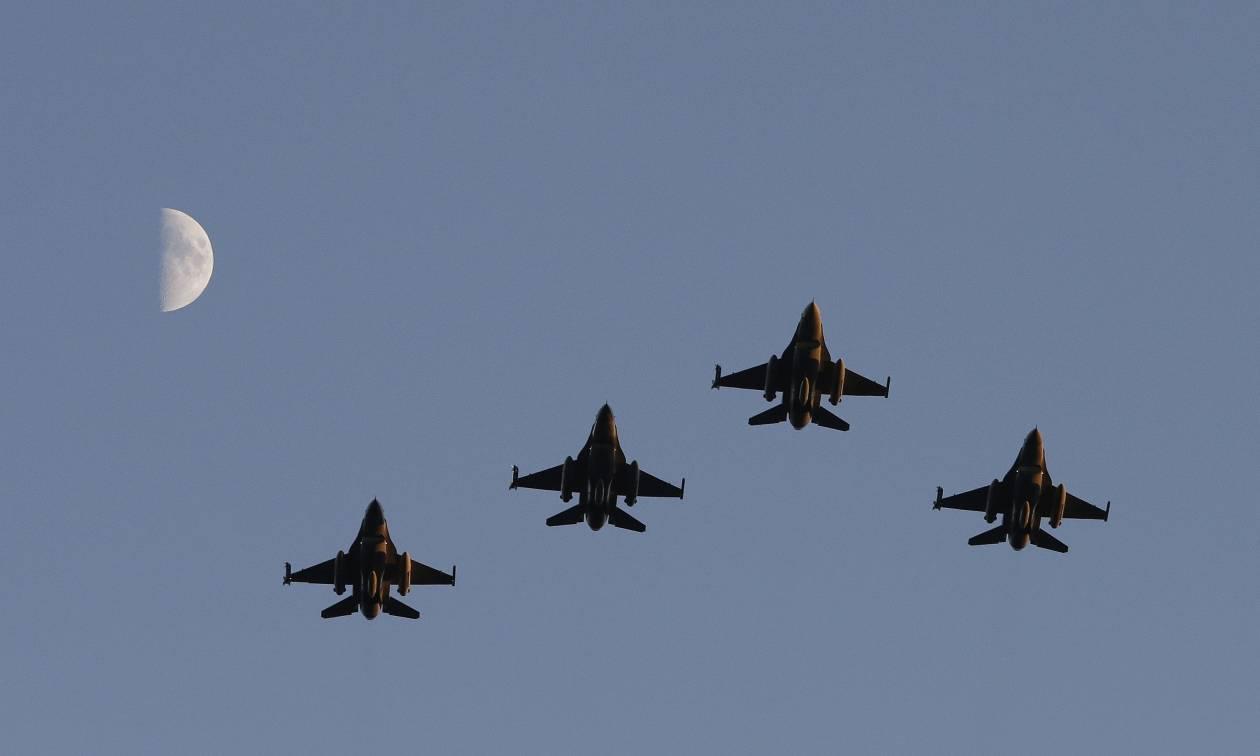 Χαμηλές πτήσεις αμερικάνικων πολεμικών μαχητικών πάνω από τη Ν. Κορέα