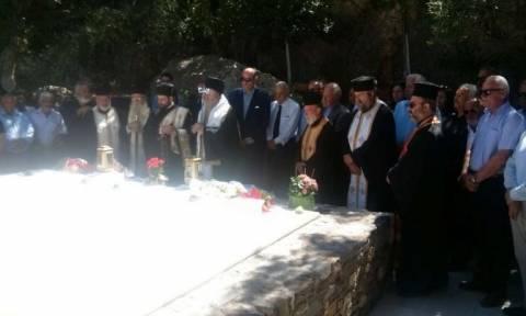 Κωνσταντίνος Μητσοτάκης: Επιμνημόσυνη δέηση τελέστηκε στο κοιμητήριο Αργουλιδέ