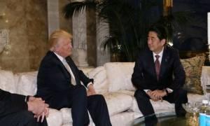 Τραμπ και Άμπε συζήτησαν για την κλιμάκωση της έντασης από την Βόρεια Κορέα