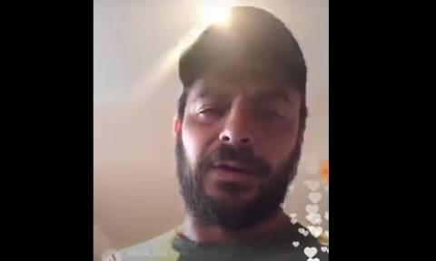 Survivor: Δείτε το... παρθενικό Live του Ντάνου στο Instagram (video)
