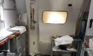 Απίστευτο περιστατικό: Αεροσυνοδός έσπασε μπουκάλι με κρασί στο κεφάλι επιβάτη! (vid)