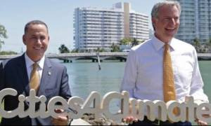 50 δήμαρχοι του κόσμου και ένας... Έλληνας απευθύνουν ύστατη έκκληση για το κλίμα
