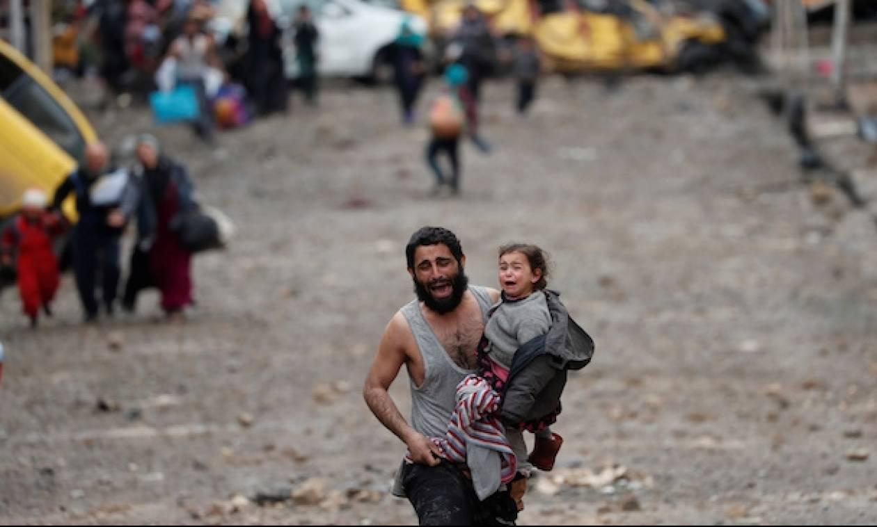 «Έπεσε» η πρωτεύουσα του ISIS στο Ιράκ: Δείτε συγκλονιστικά βίντεο από την απελευθέρωση της Μοσούλης