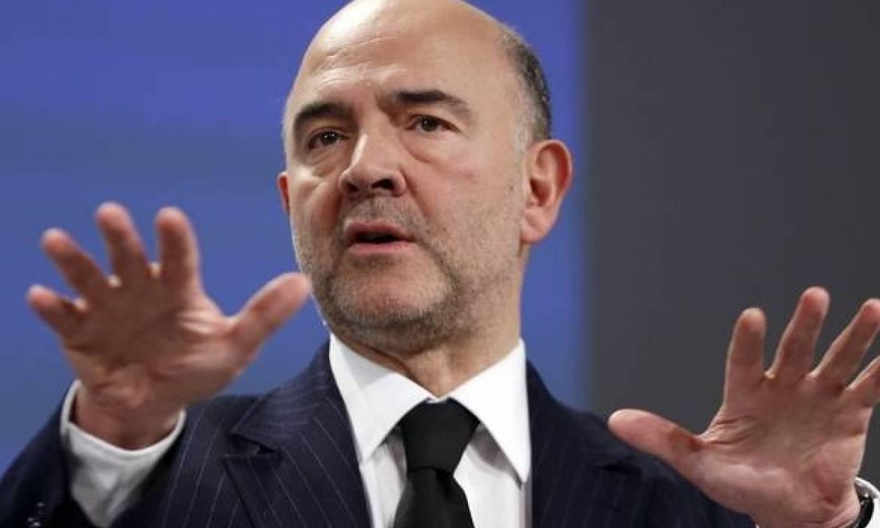 Μοσκοβισί: Όσο λιγότερο μιλάμε για την Ελλάδα στο Eurogroup τόσο το καλύτερο