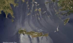 Τo απίστευτο φαινόμενο που κατέγραψε η NASA στο Αιγαίο (photo)