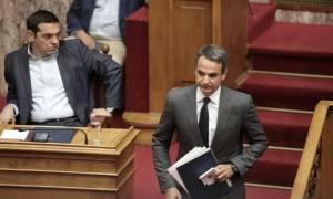 Ζήτημα δεδηλωμένης για τα Σκόπια λόγω Καμμένου θέτει ο Κυριάκος Μητσοτάκης