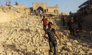 Ανατριχίλα: Δείτε τι απέμεινε από την πόλη της Μοσούλης (vid)