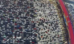 Τα 205 εκατομμύρια έφθασε ο αριθμός των αυτοκινήτων στην Κίνα!
