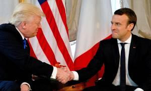 Μακρόν και Τραμπ «κονταροχτυπιούνται» για τους Ολυμπιακούς Αγώνες του 2024