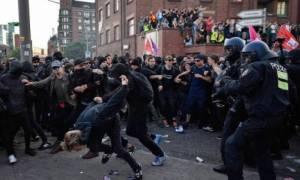 Беспорядки в Гамбурге: среди задержанных оказался гражданин Греции
