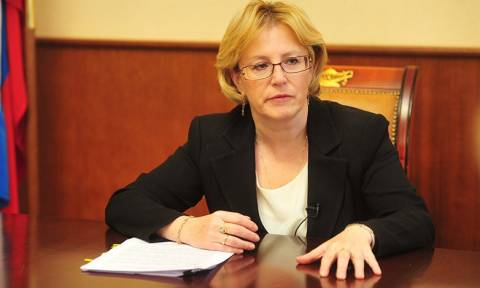 Глава Минздрава пообещала врачам к концу года зарплату в 65 тысяч рублей