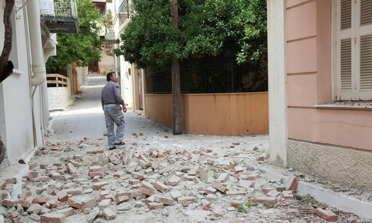 Ψυχολόγοι του Ψυχιατρικού Νοσοκομείου Αττικής στο σεισμόπληκτο Πλωμάρι