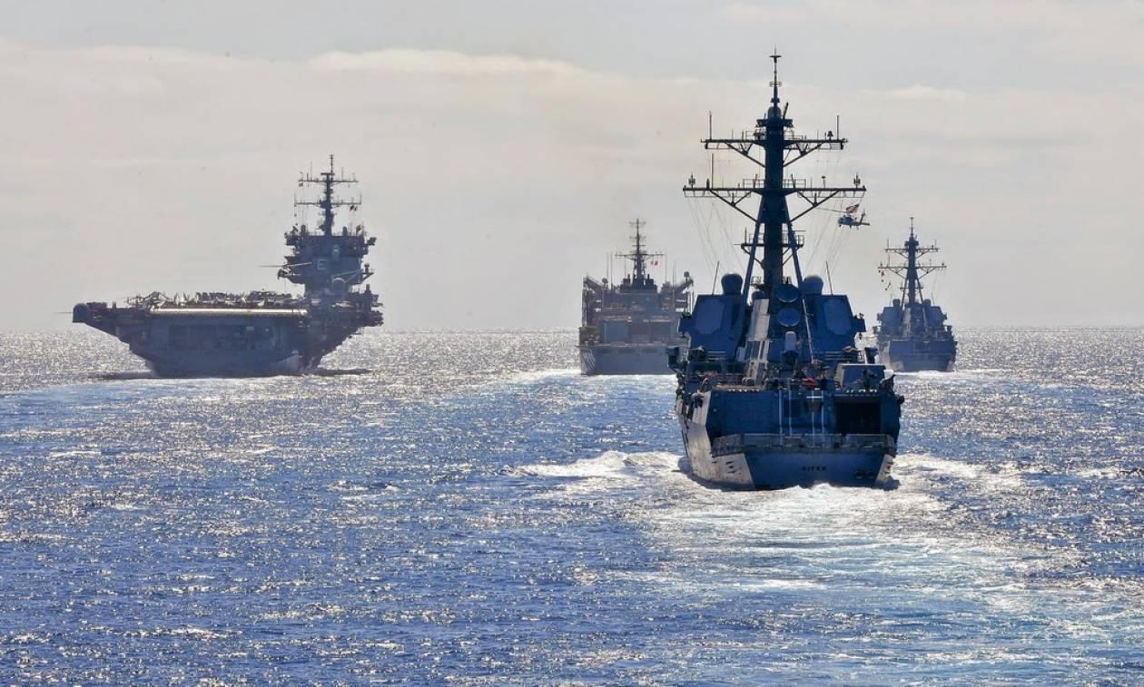 Πολεμικά πλοία γύρω από την Κύπρο  Αντίστροφη μέτρηση για τη γεώτρηση στο  Οικόπεδο 11 b0d6575d26b