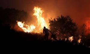 Νύχτα – θρίλερ στη Ζάκυνθο: Σε πύρινο κλοιό η περιοχή του Ναυαγίου