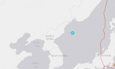 Ισχυρός σεισμός ταρακούνησε τη Βόρεια Κορέα
