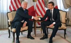 Μακρόν: Αυτός είναι ο λόγος που κάλεσα τον Τραμπ στη Γαλλία