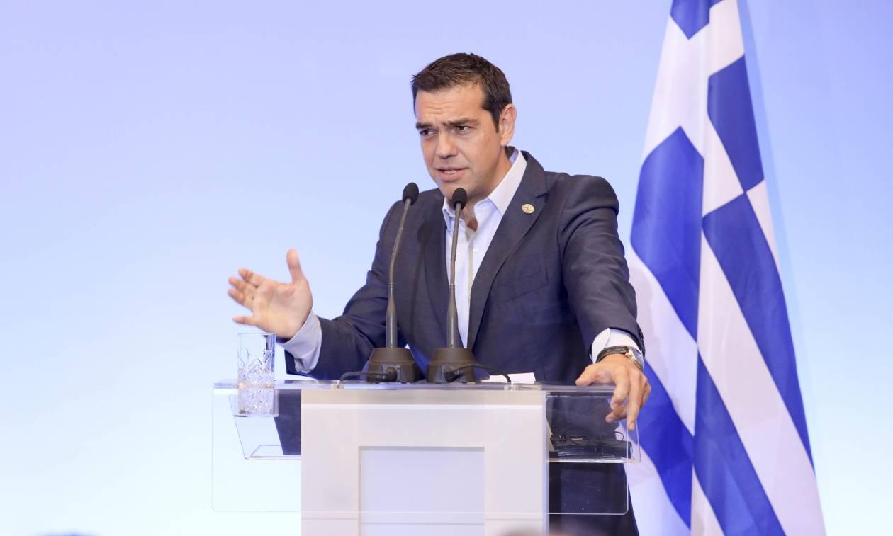 Τσίπρας για Κύπρο: Είμαστε πάντα έτοιμοι να υπερασπιστούμε τα κυρίαρχα δικαιώματά μας (vid)