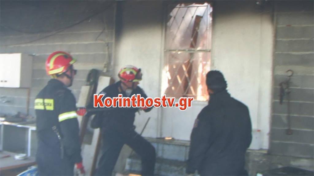 Φωτιά ΤΩΡΑ: Καίγονται σπίτια στο Ζευγολατιό Κορινθίας - Τρεις πυροσβέστες τραυματίες