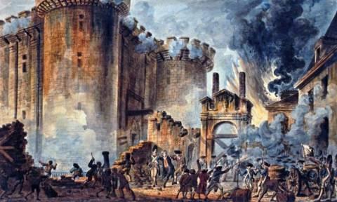Σαν σήμερα το 1789 η άλωση της Βαστίλης που σηματοδότησε την έναρξη της Γαλλικής Επανάστασης