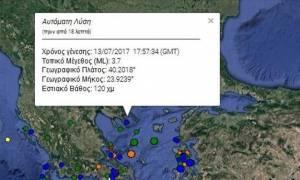 Σεισμός: Ταρακουνήθηκε η Χαλκιδική