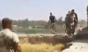 Εικόνες φρίκης στο Ιράκ: Διέρρευσε βίντεο με βασανιστήρια αιχμαλώτων στη Μοσούλη (ΣΚΛΗΡΕΣ ΕΙΚΟΝΕΣ)