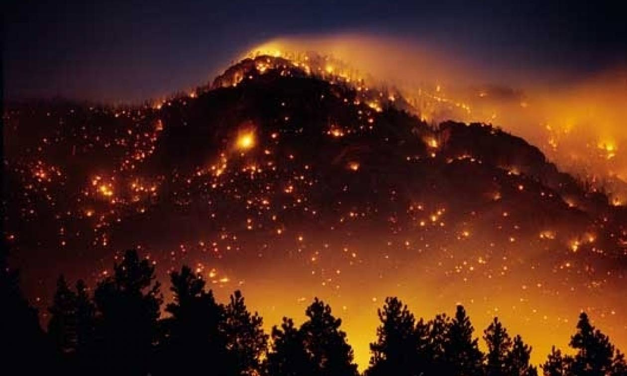 Φωτιά - Σουφλί: Ολονύκτια η μάχη των πυροσβεστικών δυνάμεων με τις φλόγες