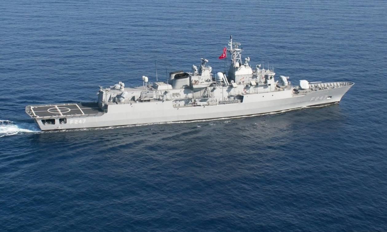 Μυρίζει «μπαρούτι» στην κυπριακή ΑΟΖ  Τουρκικά πολεμικά πλοία κοντά στο  Οικόπεδο 11 5ca4a9e2cc6
