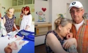 Γέννησε στα 60 της μετά από πολλές προσπάθειες, και ο άντρας της την παράτησε λόγω...μωρού!